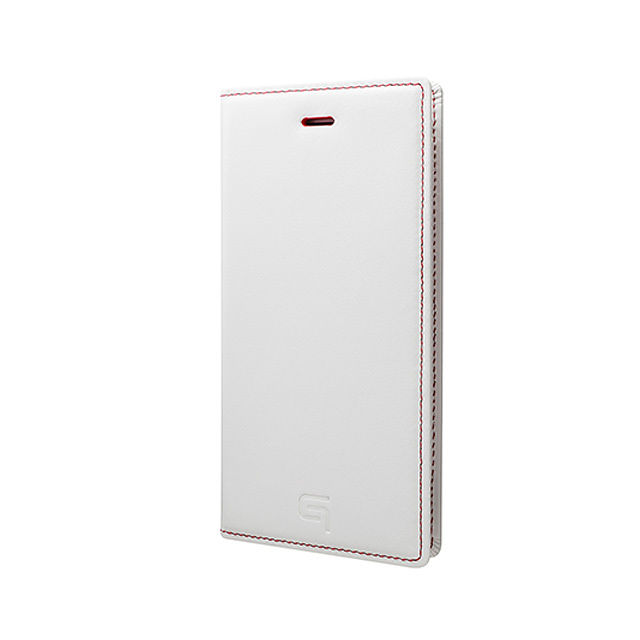 GRAMAS Full Leather Case Tricolor Limited LC634L3 for iPhone 6s / iPhone 6 White×RED - メイン画像