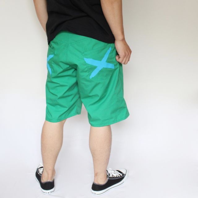 iggy shorts GREEN - メイン画像