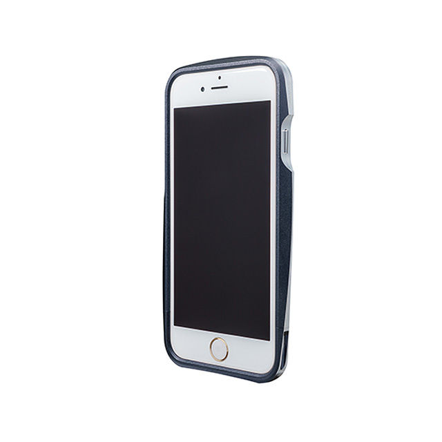 GRAMAS Round Metal Bumper MB524 for iPhone6  NAVY - メイン画像