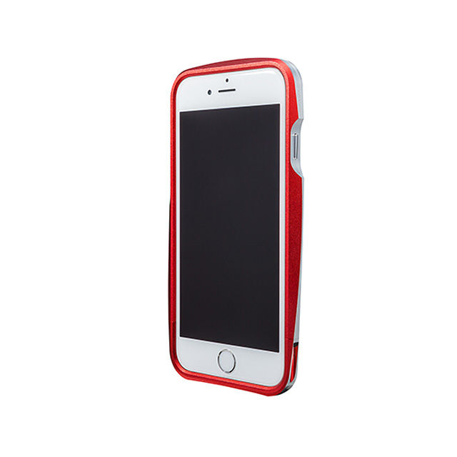 GRAMAS Round Metal Bumper MB524 for iPhone6  RED - メイン画像