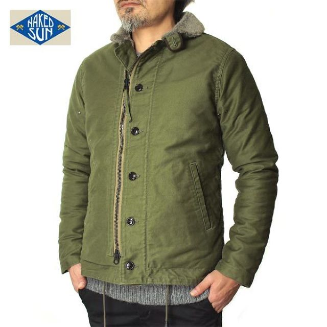 016001002(N-1 DECK JACKET-NON STRETCH)-OLIVE-2