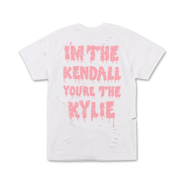 Kylie Jenner / Kendall & Kylie Distressed Tee _ No.15400001