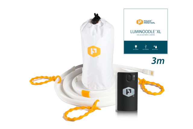 Luminoodle XL(3mタイプ) + Battery4400 セット