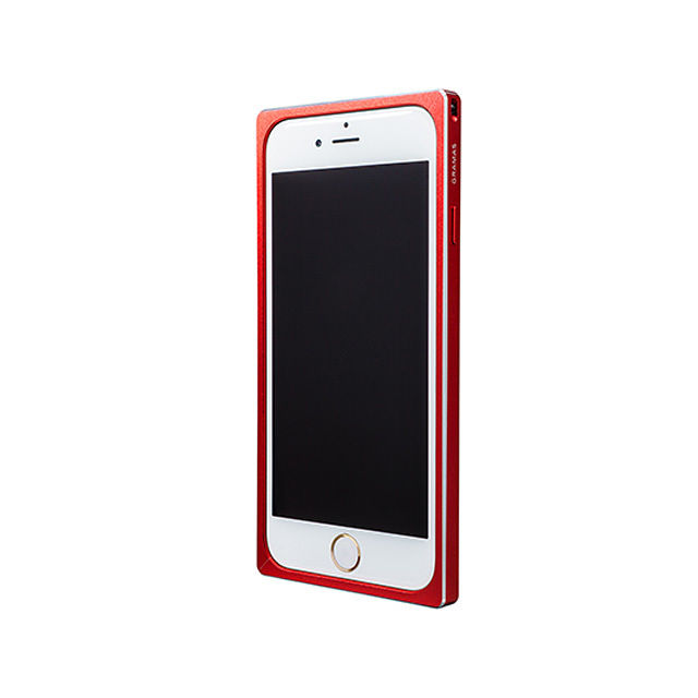 GRAMAS Straight Metal Bumper MB514 for iPhone 6s / iPhone 6 RED - メイン画像