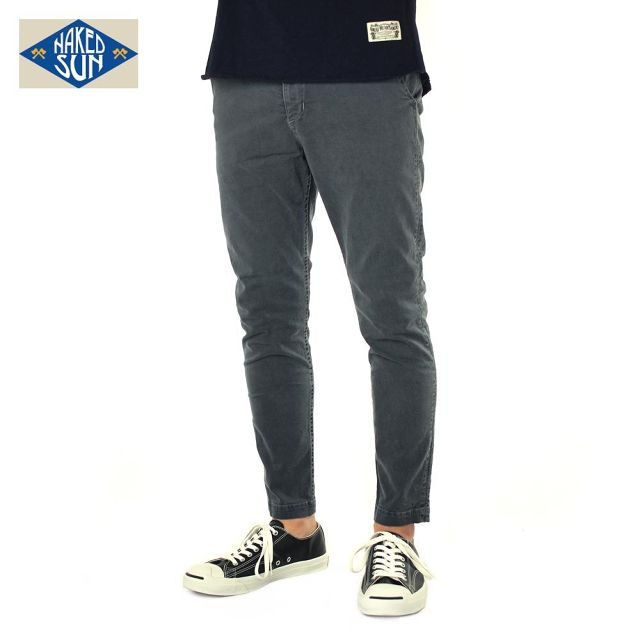 016007009(GENERAL EDGED TROUSERS)GRAY