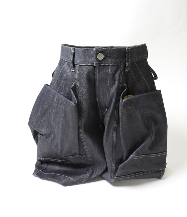第7段 TROVEx岡部文彦氏 / BIG POCKET SHORTS ( DENIM )