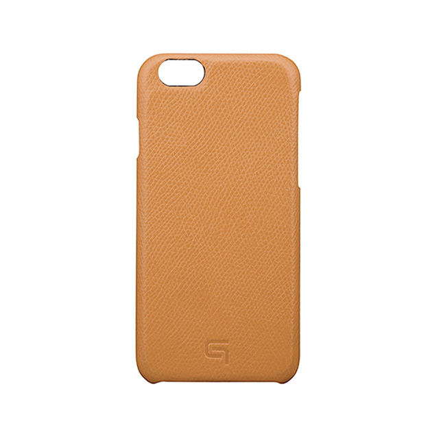 GRAMAS Embossed Grain Leather Case GRLC8076 for iPhone 6s / iPhone 6 TAN - メイン画像