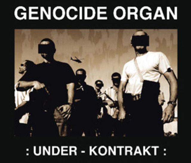 Genocide Organ ‎– Under - Kontrakt.  CD - メイン画像