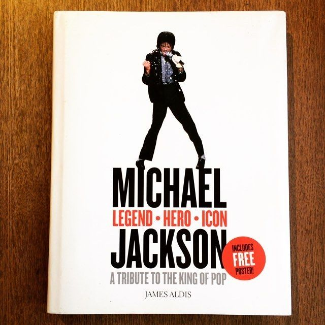 音楽の本「Michael Jackson – Legend, Hero, Icon: A Tribute to the King of Pop」 - メイン画像