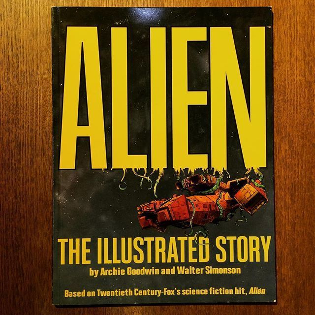 コミック「Alien: The Illustrated Story/Archie Goodwin、Walt Simonson」 - メイン画像