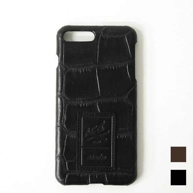 【iPhone7Plus用】Croco Embossing Leather iPhone case