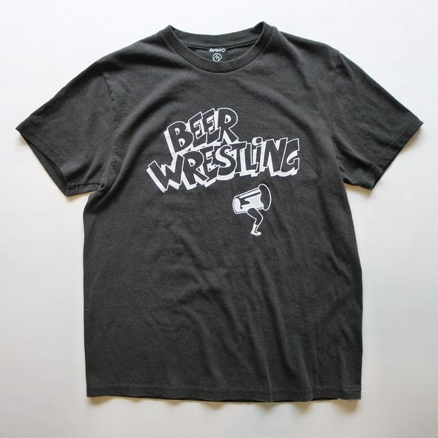 BEER WRESTLING designed by Tomoo Gokita  BLACK