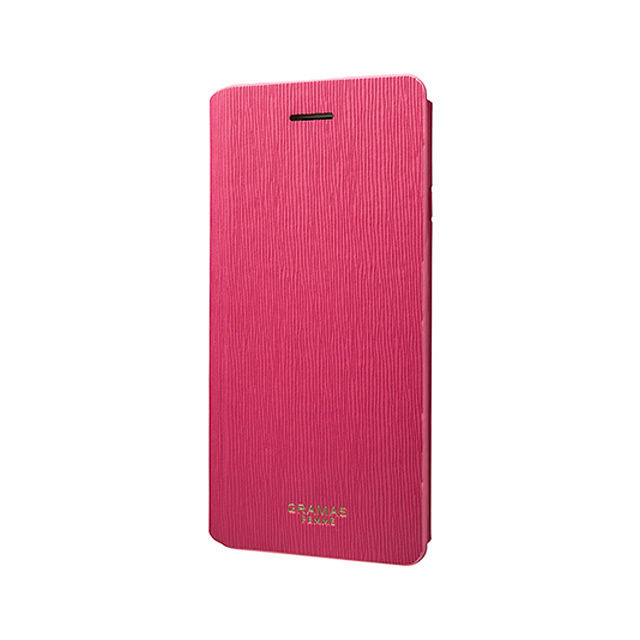 "GRAMAS FEMME Flap Leather Case ""Colo"" FLC205 for iPhone 6s / iPhone 6 PINK - メイン画像"