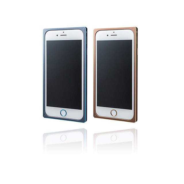 GRAMAS Straight Metal Bumper Limited MB514L for iPhone 6s / iPhone 6 GOLD - メイン画像