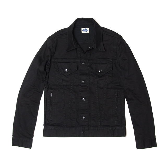 013002001(STRETCH G-JACKET)BLACK