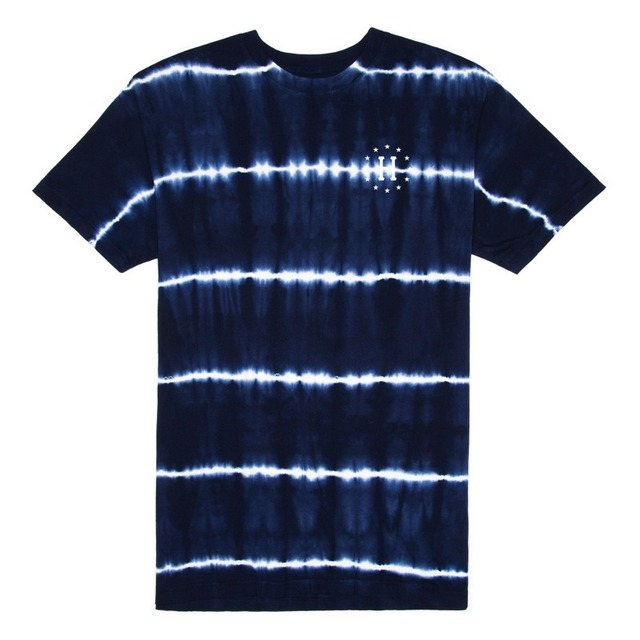 12 GALAXIES LIGHTNING STRIPE TEE NAVY