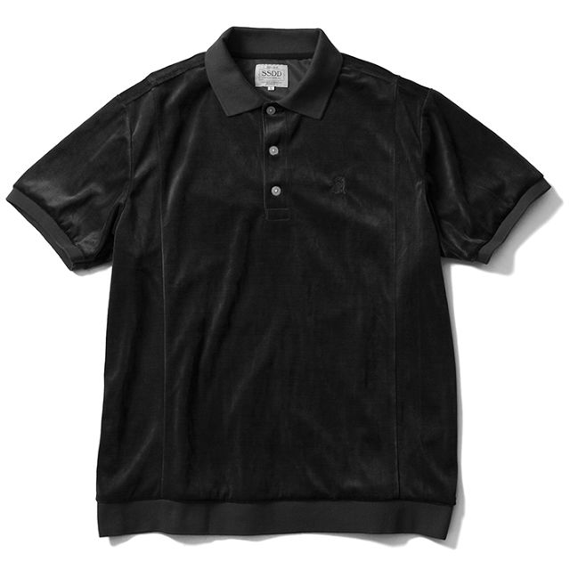 FUCT SSDD / GENERAL VELOUR POLO SHIRT / 48208