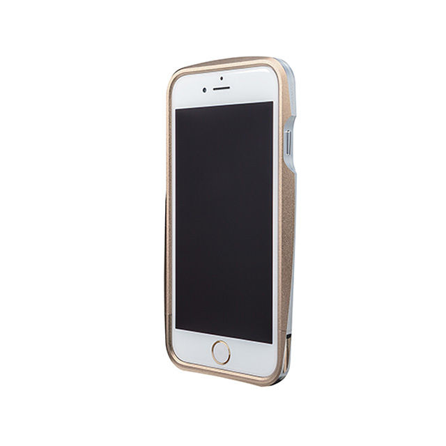 GRAMAS Round Metal Bumper MB524 for iPhone6  GOLD - メイン画像