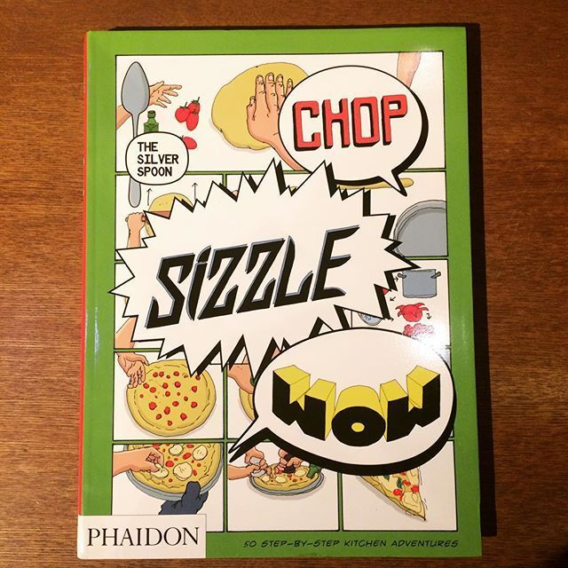 食の本「Chop, Sizzle, Wow: The Silver Spoon Comic Cookbook」 - メイン画像
