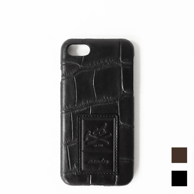 【iPhone7用】Croco Embossing Leather iPhone case