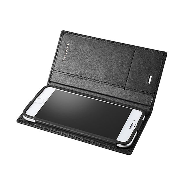 GRAMAS Full Leather Case LC644 for iPhone 6s Plus / iPhone 6 Plus BLACK - メイン画像
