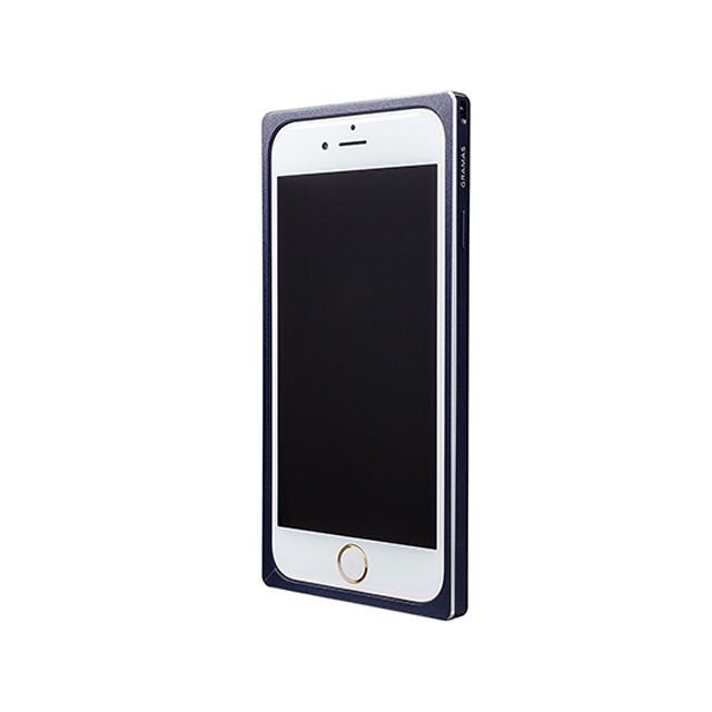 GRAMAS Straight Metal Bumper MB514 for iPhone 6s / iPhone 6 NAVY - メイン画像