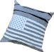 """STARS & STRIPES"" CUSHION COVER"