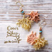 Coralreef motif Pierce -Gold-