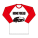 """""""Don't Know Where"""" Long sleeve T-shirts RED"""