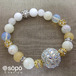 【再販!】047. power stone jewelry bracelet -yellow-
