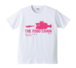 BURITSU THE FOOD CHAIN T : White×Pink
