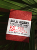 KULA HERBS    EXCELLENT SOAP   red ginger 4oz(120g)
