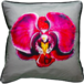 Jimmie Martin Cushions Pink orchid