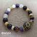 【再販!】090. power stone jewelry bracelet -oriental black-