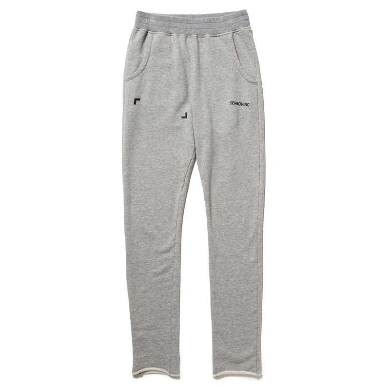 SEASONING × COLOR SWEAT PANTS - GRAY
