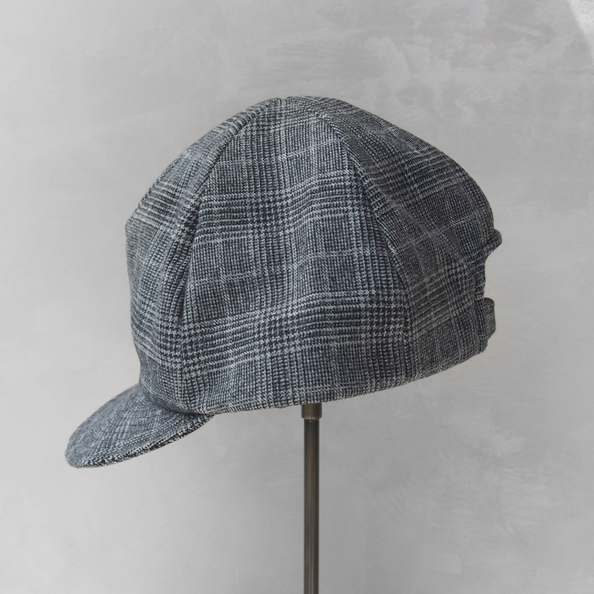 Nine Tailor Wanstead cap Gray check