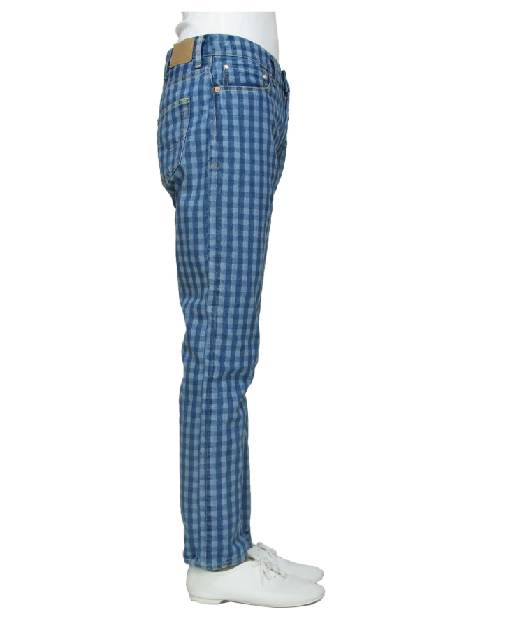 FS relax pencil  gingham-check color - 画像2