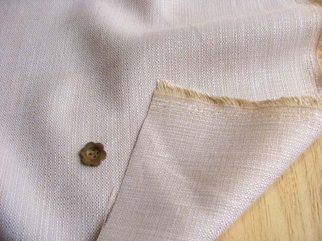 リネン混ソフトツイード(織物) ベージュ系 ASA-1150