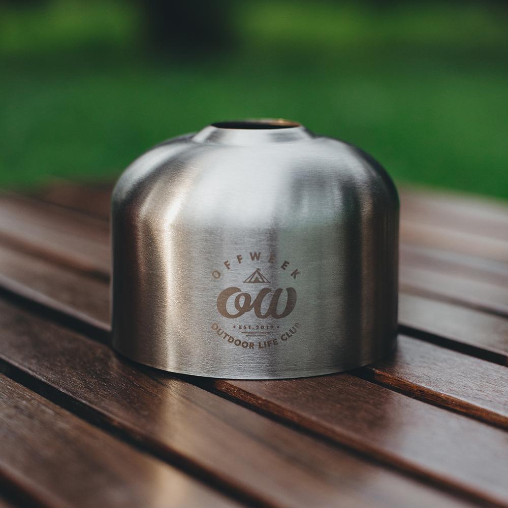 【CAMP GEAR】OD缶 ガスカートリッジカバー レトロ【230g用】