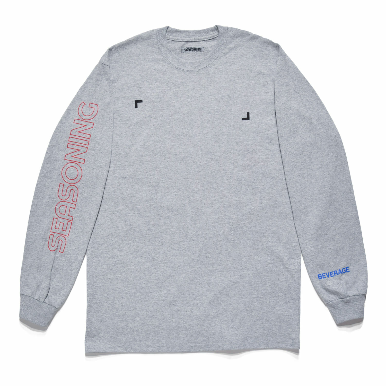 SEASONING COLOR L/S TEE  - GRAY
