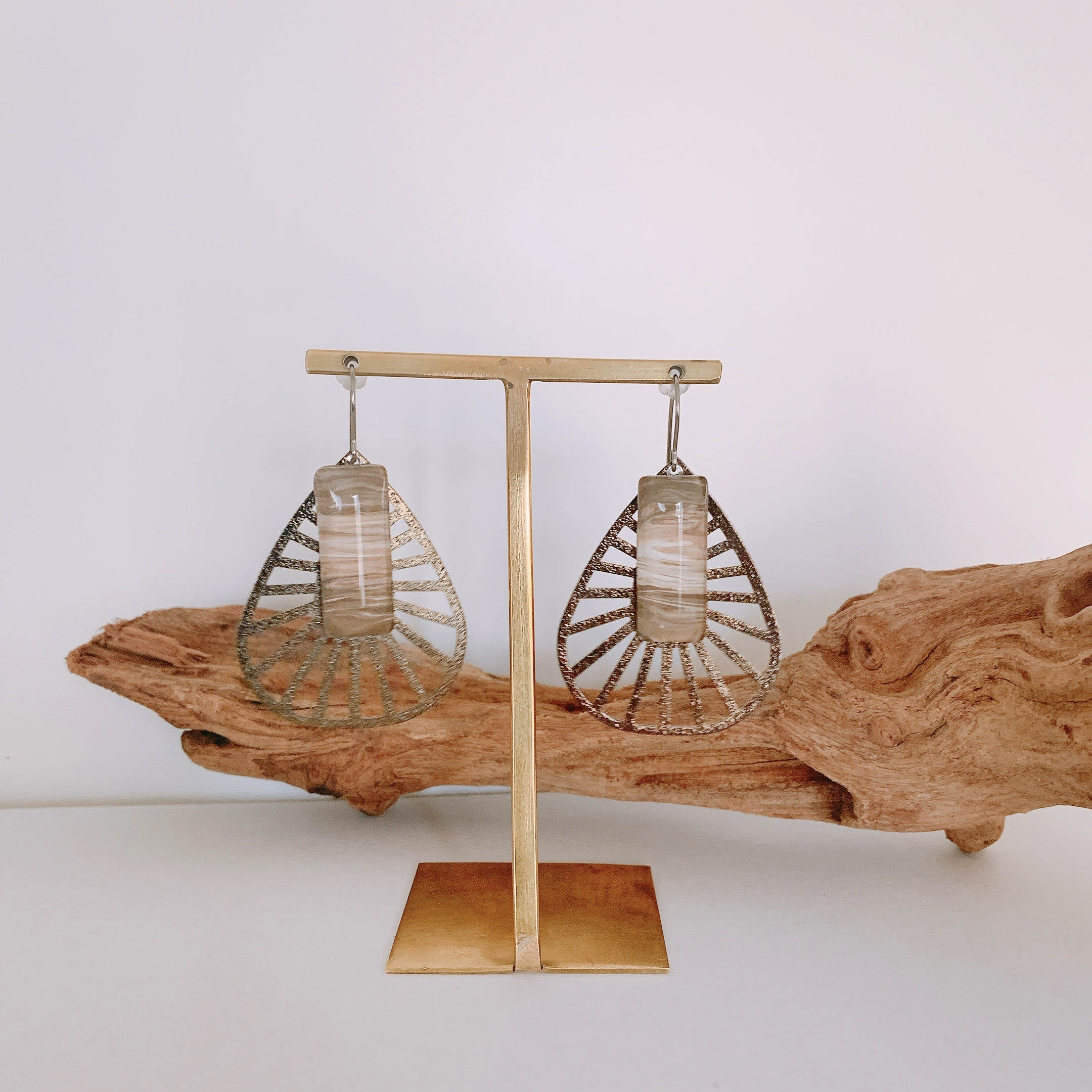 """ Pierce NO.danoan-1-1565″マーブルペイントサファリ"