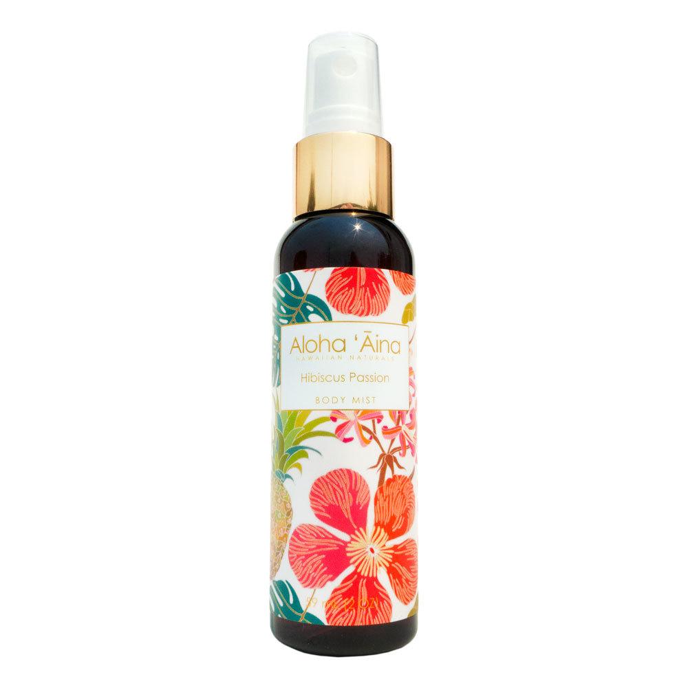 Maui Soap Company Alohaaina Bodymist Hibiscuspassion