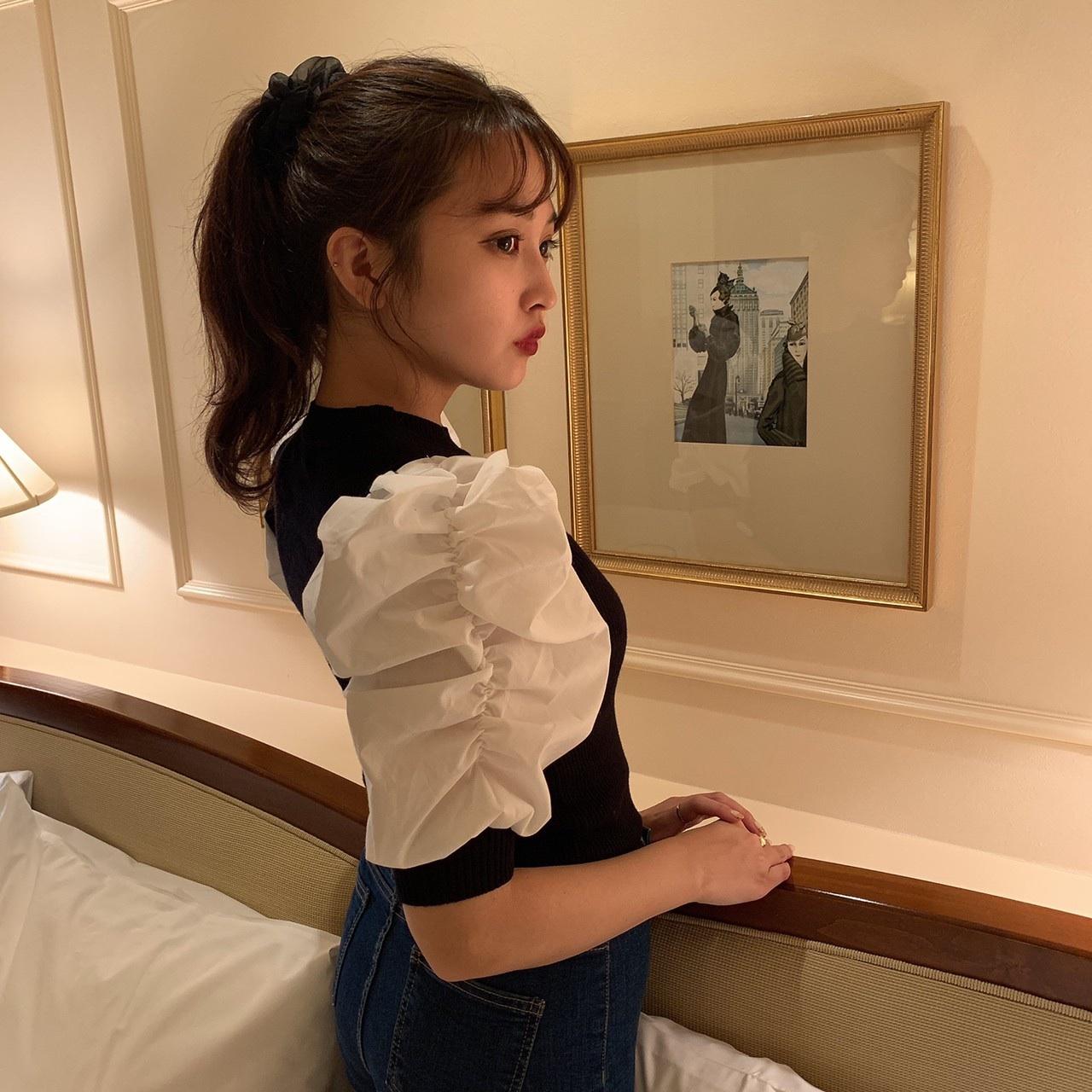 short layered blouse