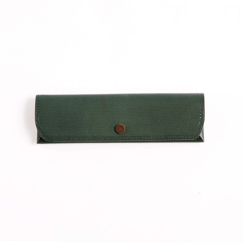 Postalco/Three Pen Case/Emerald Green
