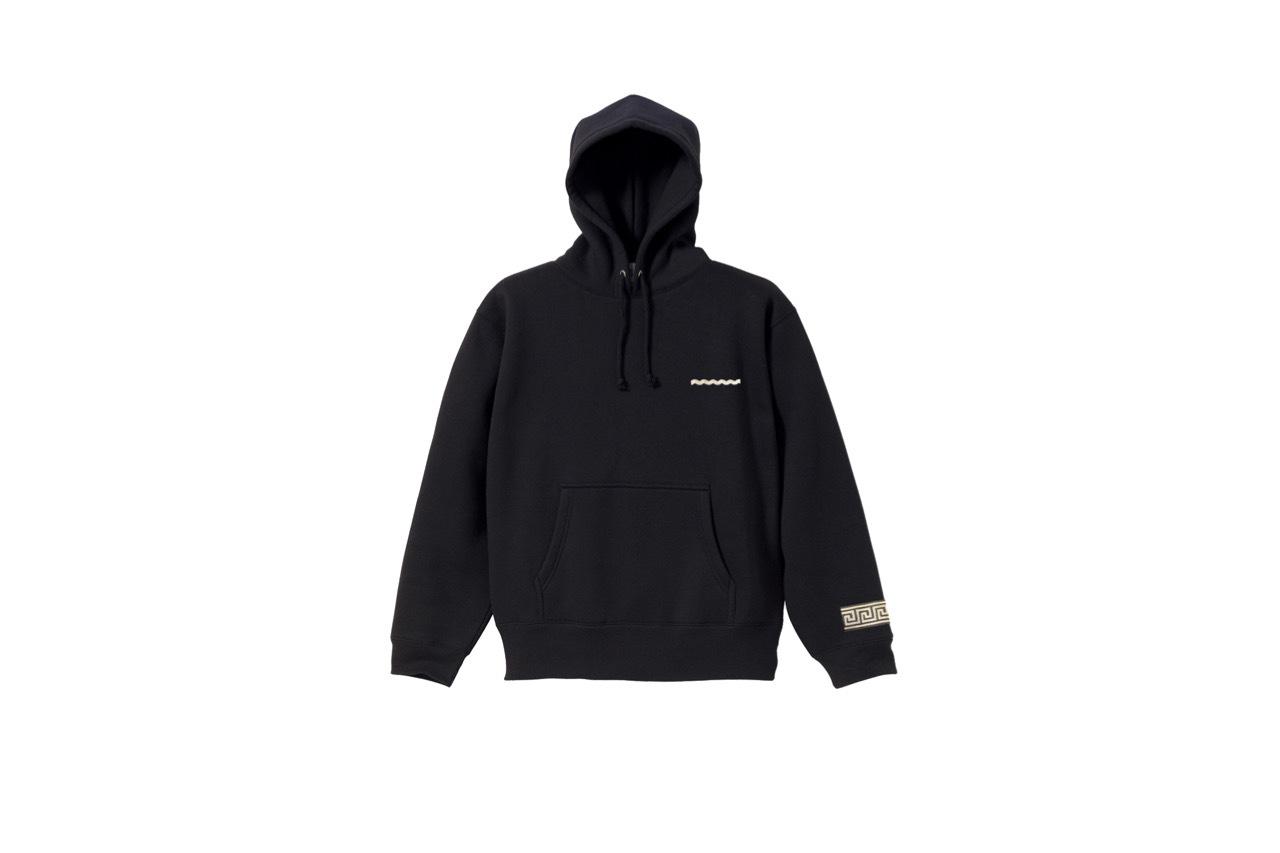 coguchi Clogo line hoodie (BLK)