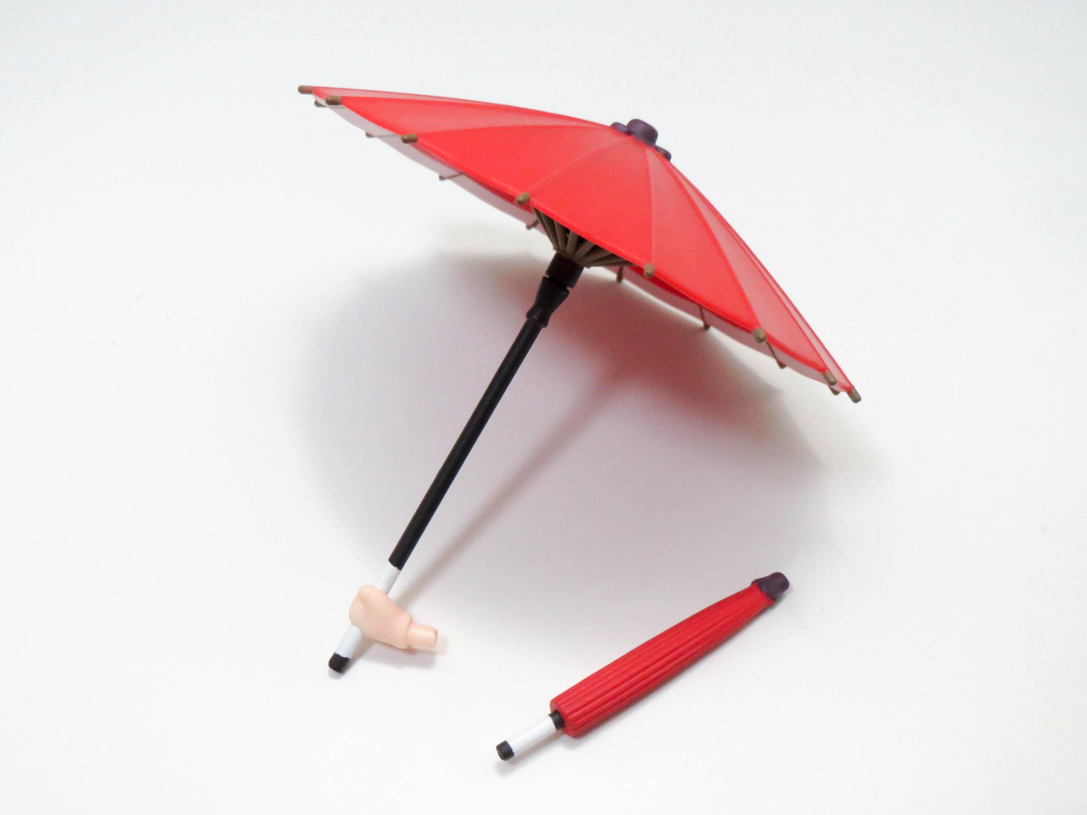 再入荷【332】 鹿目まどか 舞妓Ver. 小物パーツ 傘 ねんどろいど