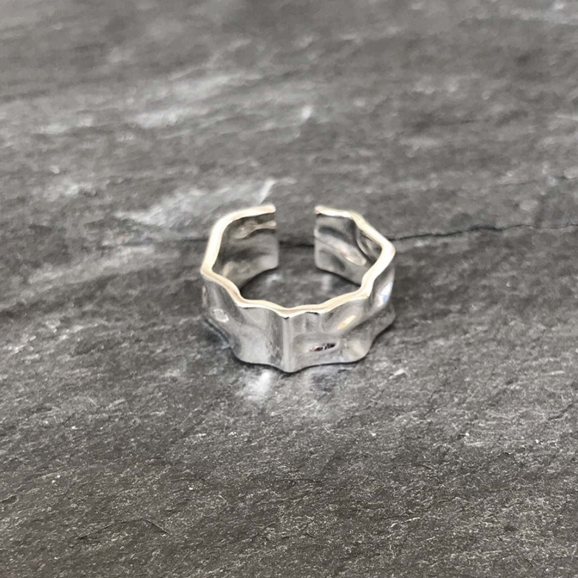 """Simple Design Ring """"silver 925"""""""