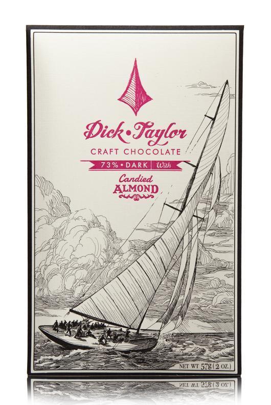 【Dick Taylor/ディックテイラー】73%キャンディードアーモンド