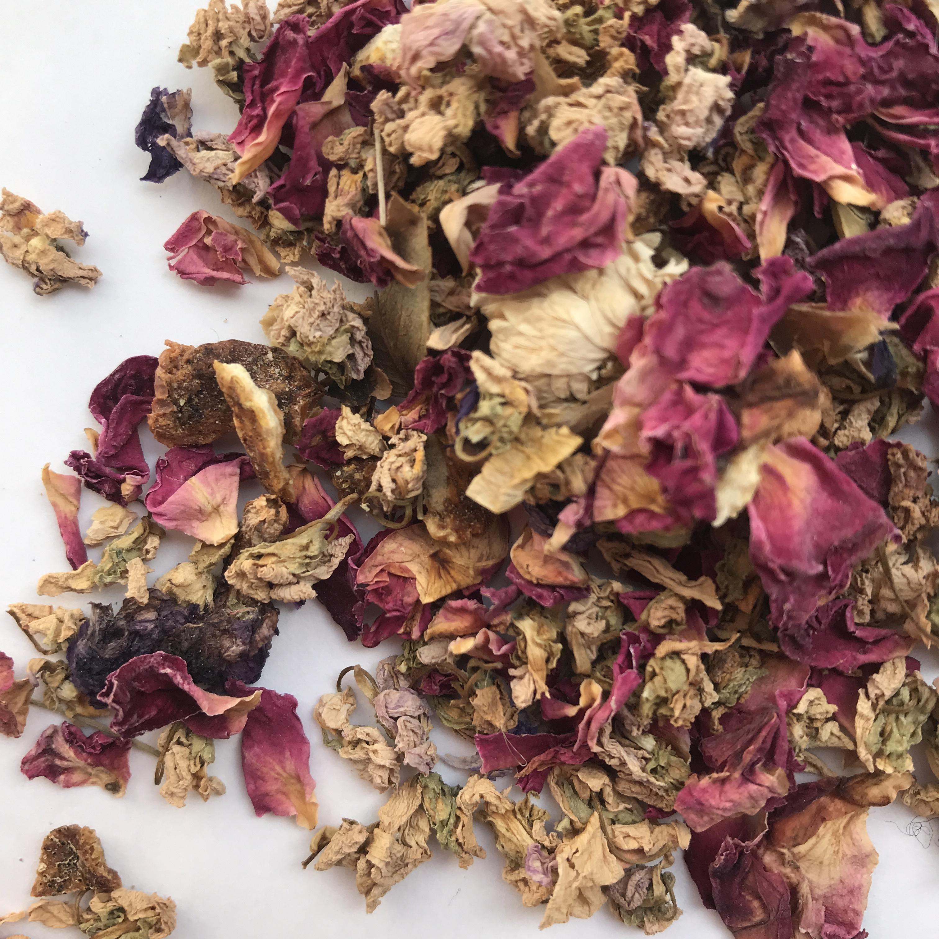 """ FROM NOW ON... herbal tea ハーブティー / Violet flower すみれのお花のハーブティー(小) 15g """