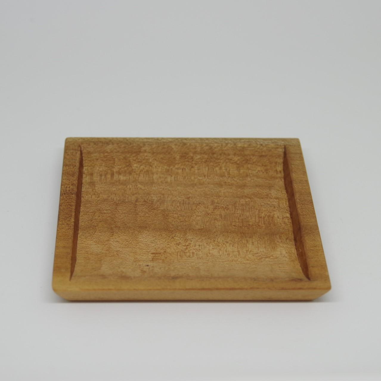 沖縄の木工【あさと木漆工房】角皿